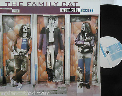 "THE FAMILY CAT ~ Wonderful Excuse ~ 12"" Single PS LTD ED #2933"