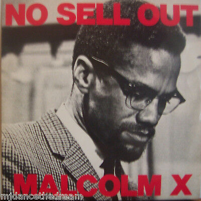 "MALCOLM X ~ No Sell Out ~ 12"" Single PS"
