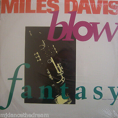 "MILES DAVIS ~ Blow / Fantasy ~ 12"" Single PS USA PRESSING"