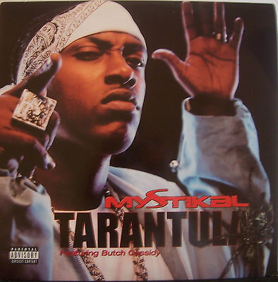 "MYSTIKAL feat BUTCH CASSIDY ~ Tarantula ~ 12"" Single PS USA PRESS"