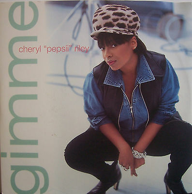 "CHERYL PEPSII RILEY ~ Gimme ~ 12"" Single PS USA PRESSING"