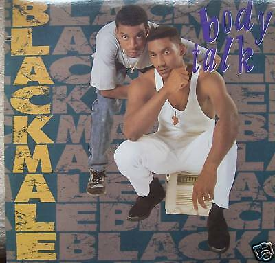 "BLACKMALE - Bodytalk - USA PRESS - 12"" Single PS"