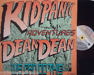 "KID PANIC - We Can Do This ~ 12"" Single PS US PRESS PROMO"