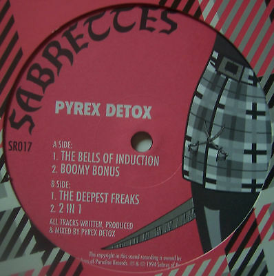 "SABRETTES ~ Pyrex Detox ~ 12"" Single"