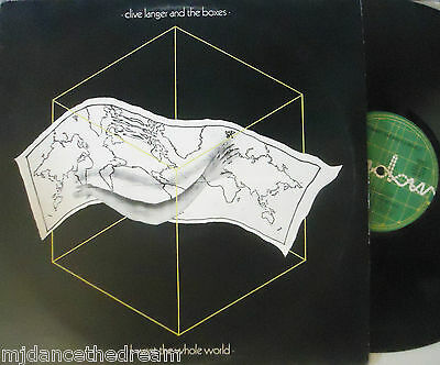 "CLIVE LANGER & THE BOXES ~ I Want The Whole World ~ 12"" Single PS"