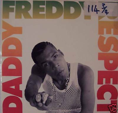 "DADDY FREDDY - Respect - 12"" Single PS"