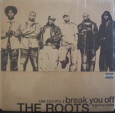 "THE ROOTS feat MUSIQ ~ Break You Off ~ 12"" Single PS"