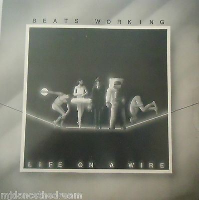 BEATS WORKING - Life On A Wire ~ VINYL LP SIGNED