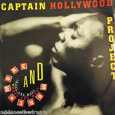 "CAPTAIN HOLLYWOOD - More & More ~ 12"" Single PS"