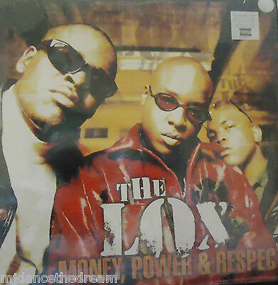 THE LOX - Money Power & Respect ~ 2 x VINYL LP US PRESS