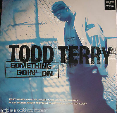 """TODD TERRY ~ Something Goin On ~ 12"""" Single PS"""
