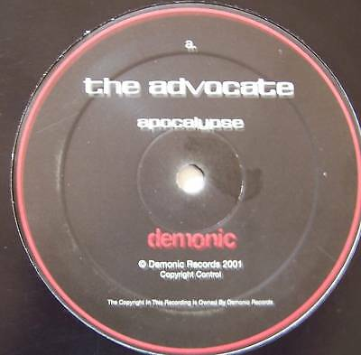 "THE ADVOCATE ~ Apocalypse ~ 12"" Single"