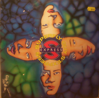 "S EXPRESS ~ Superfly Guy ~ 12"" Vinyl PS"