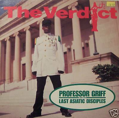 "PROFESSOR GRIFF - The Verdict ~ 12"" Single PS"