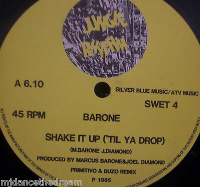 "BARONE - Shake It Up ~ 12"" Single"