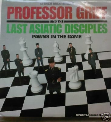 """PROFESSOR GRIFF - Pawns In The Game ~ 12"""" Single PS"""