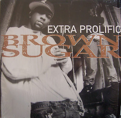 "EXTRA PROLIFIC ~ Brown Sugar ~ 12"" Single PS USA PRESS"