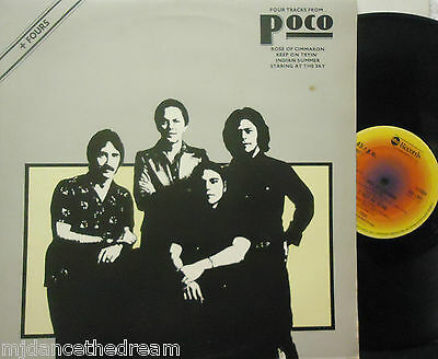 "POCO ~ Four Tracks From ~ 12"" Single PS"