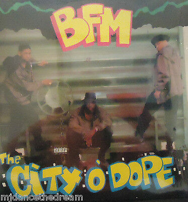 BFM - The City O Dope ~ VINYL LP US PRESS SEALED