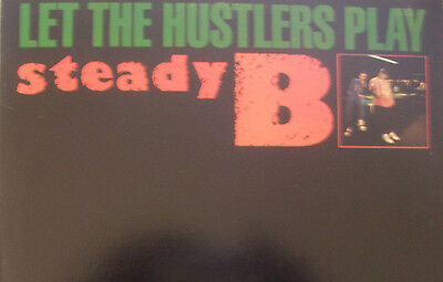 """STEADY B - Let The Hustlers Play ~ 12"""" Single PS US PRESS"""