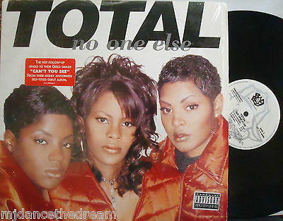 "TOTAL ~ No One Else ~ 12"" Single PS USA PRESSING"