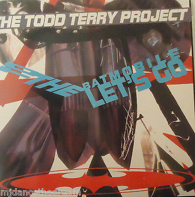 TODD TERRY PROJECT - To The Batmobile Lets Go ~ VINYL LP