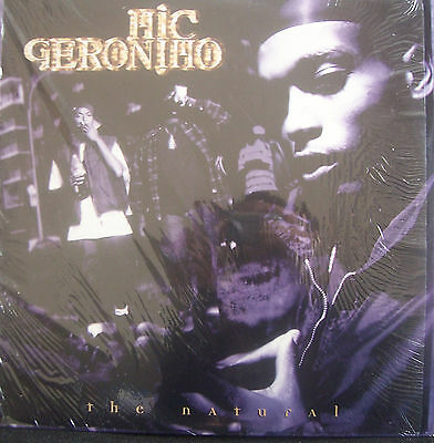"MIC GERONIMO ~ The Natural / Train Of Thought ~ 12"" Single PS USA PRESS"