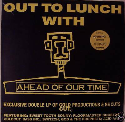 """OUT TO LUNCH WITH """"AHEAD OF OUR TIME"""" ~ 2 x Vinyl LP"""