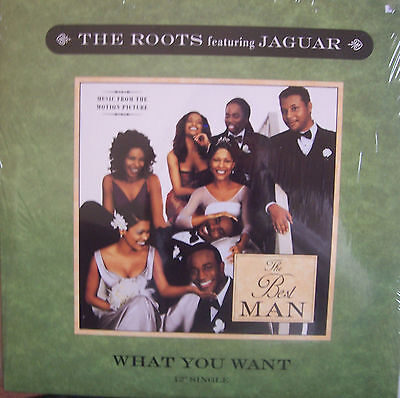 "THE ROOTS feat JAGUAR ~ What You Want ~ 12"" Single PS USA PRESSING"