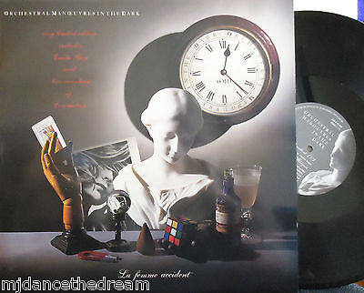 "OMD ORCHESTRAL MANOEUVRES IN THE DARK La Femme Accident LTD ED 2 x 12"" Single PS"