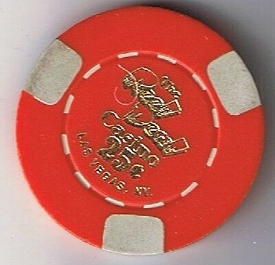 Reel Deal .25 Fractional Casino Chip Las Vegas Nevada