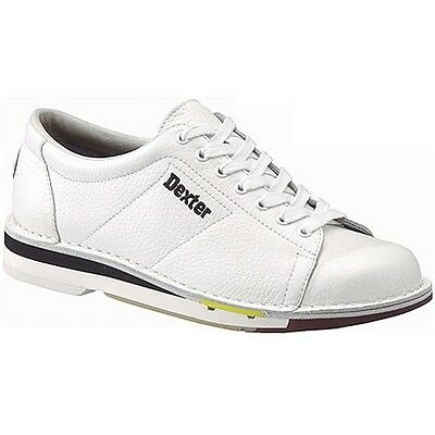 Dexter Mens SST 1 White  Left Handed  Bowling Shoes size 10 and size 11  2 pairs