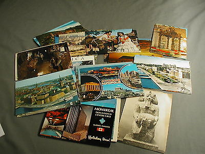 50 Ass't Vintage Postcards - Foreign Countries Netherlands Singapore Holland  4