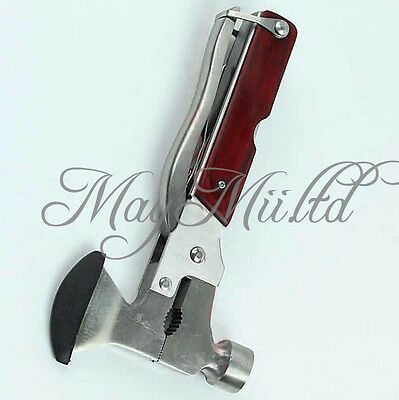 Multi-function Outdoor Camping Emergency Survival Tools Hatchet Axe Hammer S