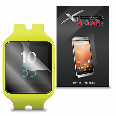 6-Pack Clear HD XtremeGuard HI-DEF Screen Protector Cover For Sony Smartwatch 3