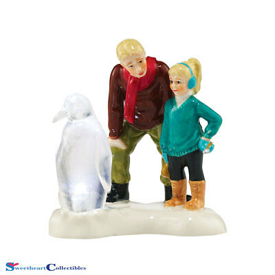 Department 56 Snow Village 4044865 Ice Sculptor In The Making New 2015