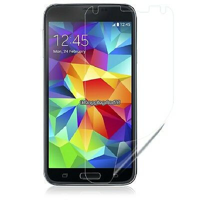 3PCS 2014 LCD Screen Protector Guard Cover Film for Samsung Galaxy S5 i9600 EH7