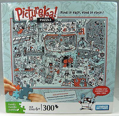 "PICTUREKA! JIGSAW PUZZLE 300 pc Adult & Kids 15 x 20"" Find it easy & fast"