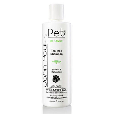 JOHN PAUL PET Tea Tree Treatment Shampoo Cleanse 473ml Paul Mitchell
