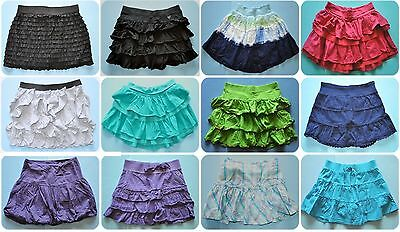 JUSTICE/Limited Too Elastic Waist Pull On Knit Skort/Skirt UPICK/Your Choice 14