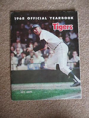 1968 Detroit Tigers World Champs Auto Yearbook 30 Autos  Cash Sparma Oyler