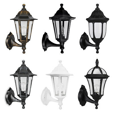 Traditional Vintage Style IP44 Outdoor Garden Wall Light Coach Lantern Lights