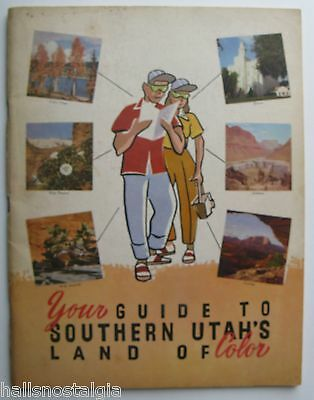 1952 Guide to Sothern Utah's Land of Color