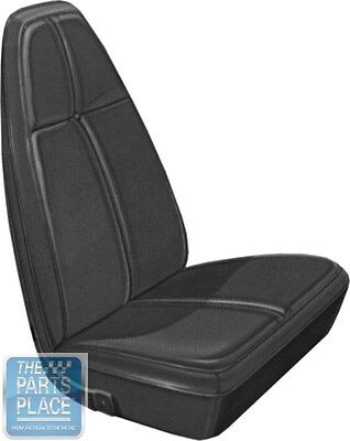 1971 Challenger Standard Burnt Orange Front Buckets Seat Covers - PUI