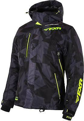 NEW FXR-SNOW VERTICAL LITE WOMENS WATERPROOF/POLYESTER JACKET, BLACK, SIZE-6