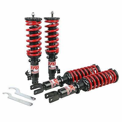 FOX Coilover Suspension Coilovers Shock Fit Honda Civic EK EK4 EK9 EM1 96-00