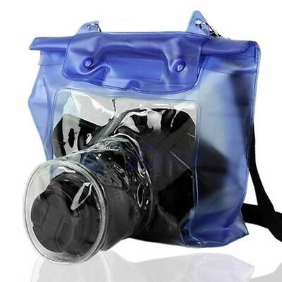 New DSLR SLR Camera Waterproof Underwater Housing Case Pouch Bag for Canon Nikon
