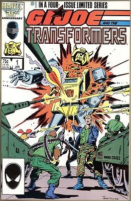 G.I. Joe And The Transformers #1 - VF+