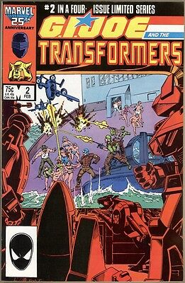 G.I. Joe And The Transformers #2 - VF/NM