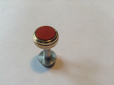 Pimp Your Horn Lacquered Finger Buttons For Sovereign Baritone- Red Jasper